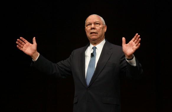 General Colin Powell at Blue Coat