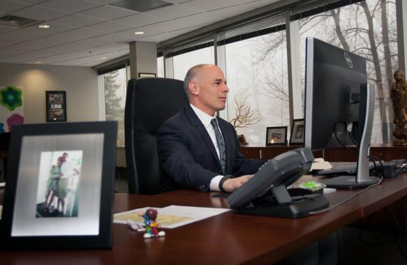 Mike Giannattasio, Montblanc NorthAmerica CEO