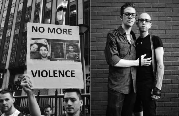 Anti LGBT Violence in NYC