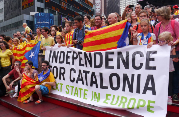 Via Catalana for Catalonia independence